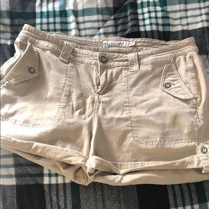 Torrid khaki shorts size 12